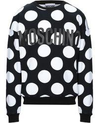 Moschino - Gepunktetes Sweatshirt - Lyst