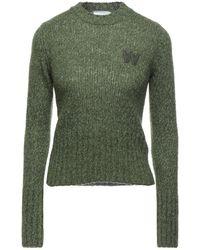 WOOD WOOD Pullover - Vert
