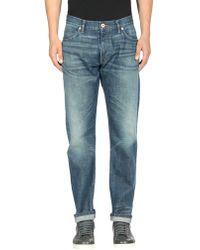 Billy Reid Pantalon en jean - Bleu
