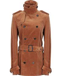 Saint Laurent Coat - Brown