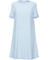 Harris Wharf London Short Dress - Blue