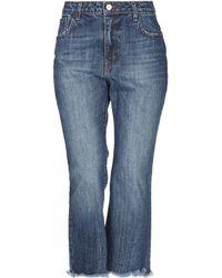 Souvenir Clubbing Denim Trousers - Blue