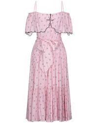 Vivetta Midi Dress - Pink