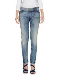 Plein Sud Denim Trousers - Blue