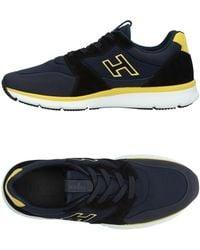 Hogan Low Sneakers & Tennisschuhe - Blau