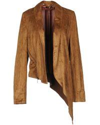 Manila Grace Suit Jacket - Brown