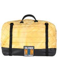DIESEL Travel Duffel Bag - Yellow