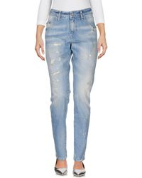 Carolina Wyser Denim Pants - Blue