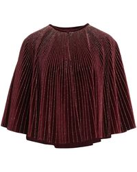 Dries Van Noten Capes & Ponchos - Red
