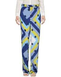 Twin Set Casual Trouser - Blue