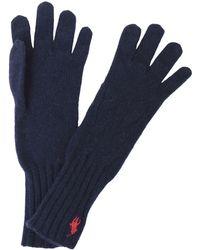 Polo Ralph Lauren Gloves - Blue