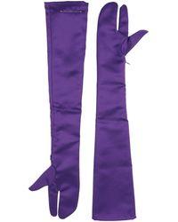 MM6 by Maison Martin Margiela Gloves - Purple