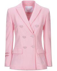 Giada Benincasa Suit Jacket - Pink