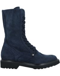 Paciotti 308 Madison Nyc Ankle Boots - Blue