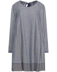 Péro Short Dress - Grey