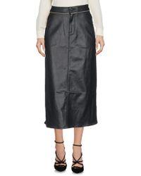 Calvin Klein Jeans - 3/4 Length Skirt - Lyst