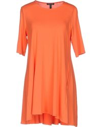 Eileen Fisher - Short Dress - Lyst