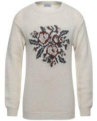 Scaglione Pullover - Weiß
