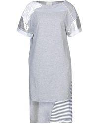 ELISA CAVALETTI by DANIELA DALLAVALLE Short Dress - Grey