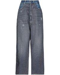Golden Goose Pantalon en jean - Bleu