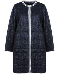 Ermanno Scervino Lange Jacke - Blau