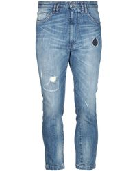 Patrizia Pepe Pantalon en jean - Bleu