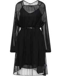 Pepe Jeans Midi Dress - Black