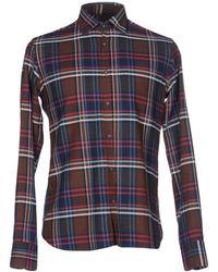 Aglini Camisa - Marrón