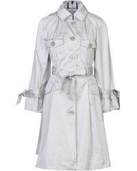 Emporio Armani Overcoat - Multicolor