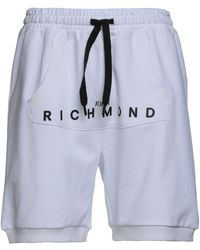 John Richmond Shorts et bermudas - Blanc