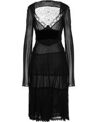 CoSTUME NATIONAL Midi Dress - Black