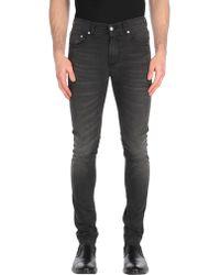 Alexander McQueen Denim Pants - Black