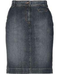 Henry Cotton's - Denim Skirt - Lyst