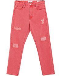 Guess Pantalon en jean - Rouge