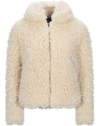 Obey Teddy Coat - White