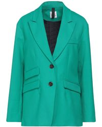 Attic And Barn Suit Jacket - Green