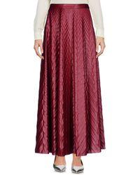 Golden Goose Deluxe Brand Long Skirt - Red