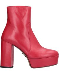 Pinko Ankle Boots - Red