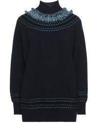 Lamberto Losani Cuello alto - Azul