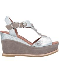 CafeNoir Sandals - Gray