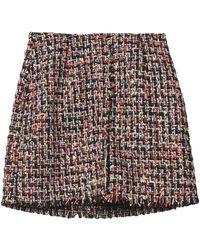 Soallure Midi Skirt - Black
