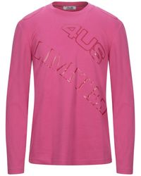 Cesare Paciotti T-shirt - Pink