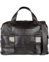 Orciani Travel Duffel Bags - Black
