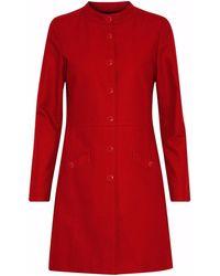 Vanessa Seward Overcoat - Red