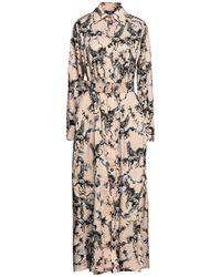 W Les Femmes By Babylon Long Dress - Natural
