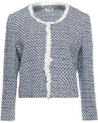LE COEUR TWINSET Suit Jacket - Blue