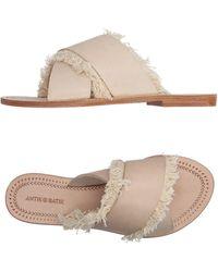 Antik Batik Sandals - Natural