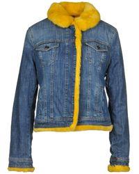 Liu Jo Manteau en jean - Bleu