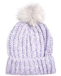 TOPSHOP Hat - Purple