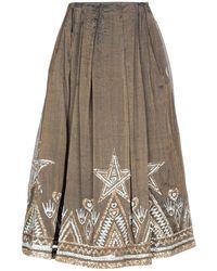 Manish Arora Long Skirt - Multicolour